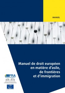 Handbook on European law relating to asylum, borders and immigration, Translation from English into French