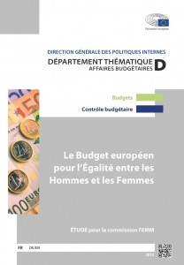 The EU Budget for Gender Equality