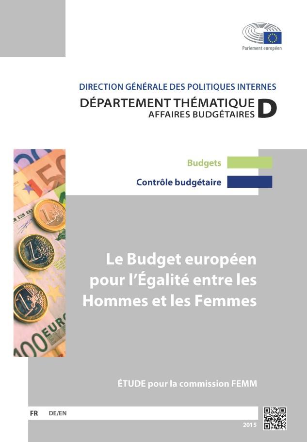 The EU Budget for Gender Equality